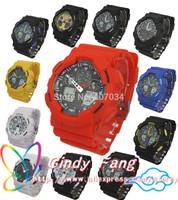 Quality Guarantee relogio GA100 watch, GMT digital watch LED military shock resistant wristwatch, army men women dress watches