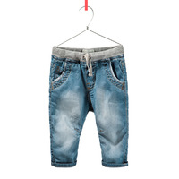 6pcs/lot Double single foreign trade children's clothing thin jeans boy all leisure tight trousers boys pants free shipping