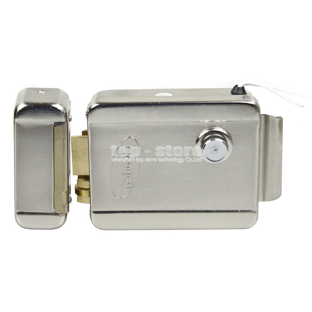 Electronic Lock Door Lock Security System For Veideo Door Phone Doorbell Intercom Access Control System(China (Mainland))