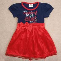 children dress 2014 nova baby & kids clothing shivering belt girl summer short foral evening tutu party dress for girls H4829#