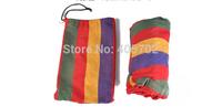 The single hammock camping survival hammock Parachute cloth outdoor or indoor 260*80cm 1pcs