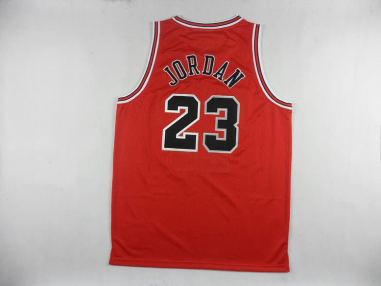 Michael Jordan 1997-1998 jersey ritorno al passato Chicago 23 retrò basket maglia rossa spedizione gratuita