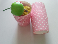 Free Shipping 200pcs Pink with White Polka Dot Paper Baking Cups,Treats Cups,Nut Muffin Cups,Party Favor Cups,Cupcake Cups