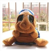 Toys genuine high-end plush toys super adorable cartoon nurse cap eyed turtle plush toys.