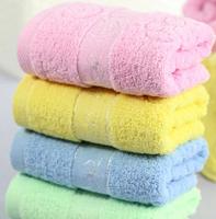 2014 Promotion Cheapest 100% Cotton Towels Face Towels high quality Bath Towels Beach Towels 73x33cm 3pcs/lot Wholesale