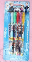 lot new 10 Box 60 Pcs Frozen Princess  Fruits Scent Pen super fruits scent cartoon blink pen pen 6 Color Highlighter
