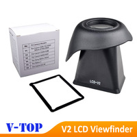 """2.8x V2 LCD Viewfinder view finder 3"""" inches 4:3 Magnifier Eyecup Hood for Canon 5D3 550D - Free shipping"""