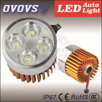 Free Shipping 12V 24V 20w Motorcycle Headlight Osram Chip High Power