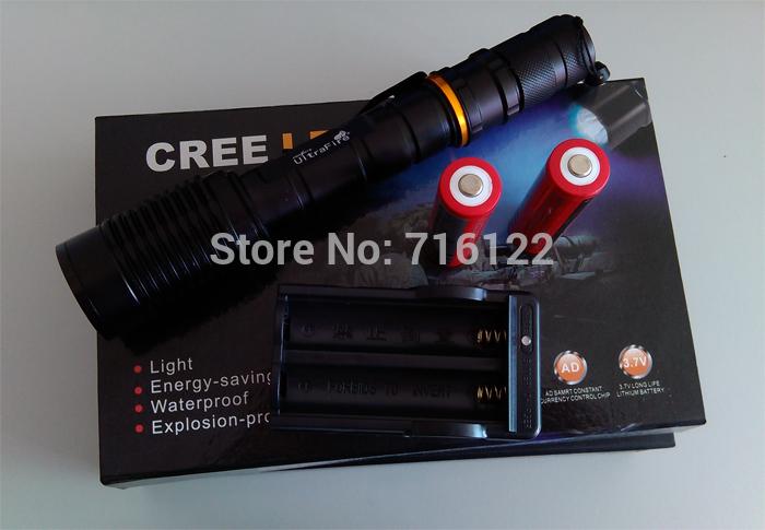 Фонарик Ultrafire Cree XML T6 Zoomable Z5/Z6 2000lumen CREE XML T6 5 FL019 фонарик ultrafire e17 t6 cree xml 2000 18650 cree t6