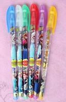 lot new 20 Box120 Pcs Frozen Princess  Fruits Scent Pen super fruits scent cartoon blink pen pen 6 Color Highlighter