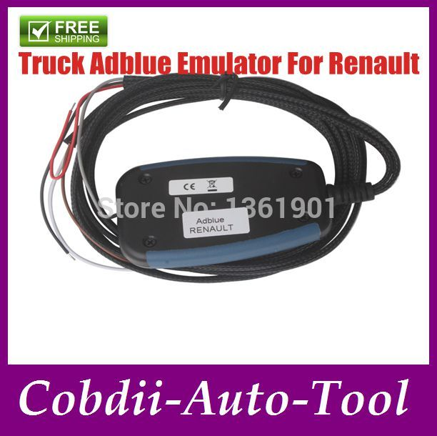 Free Shipping! 2014 Renault Truck Adblue Emulator for Professional Renault AdBlue Emulator,Trucks and other heavy vehicles(China (Mainland))
