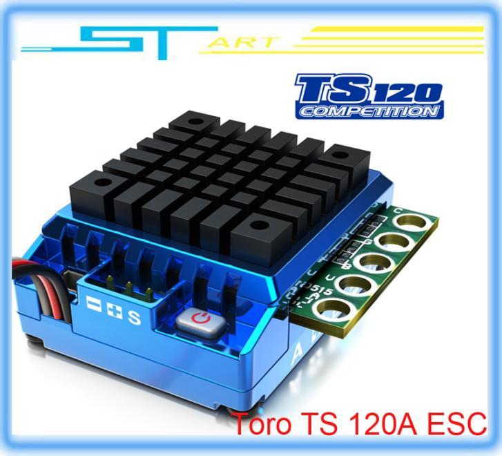5 pcs SKYRC Toro TS 120A Sensor Controller ESC Support Bluetooth module for 1/10th Scale rc nitro car drift c battery helikopter(China (Mainland))