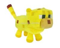 2pcs/lot Minecraft 7-inch Ocelet Soft Toy plush toy animal toy stuffed doll new free shipping