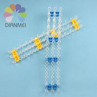 Hot Sale 2pcs/lot New Fashion Random Color Plastic Loom Board For DIY Charms Loom Bracelet Making Kit Refill