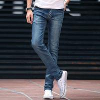 free shipping 2014 Autumn Winter Men Jeans Pants Long High waist Denim Pant For Man Desigual Brand Mens Fashion Cotton Trousers
