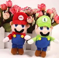 Free Shipping  10PCS/LOT SuperMario Super Mario Plush Key chain mobile phone strap doll
