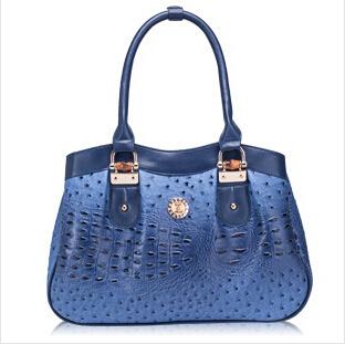 Summer new fashion Ostrich handbag shoulder bag leisure bag hh196(China (Mainland))