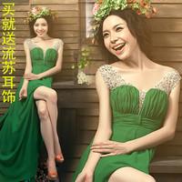 Free shipping new fashion 13 colors chiffon plus size 3xl 4xl vestido de festa longo robe de soiree formal long evening dress