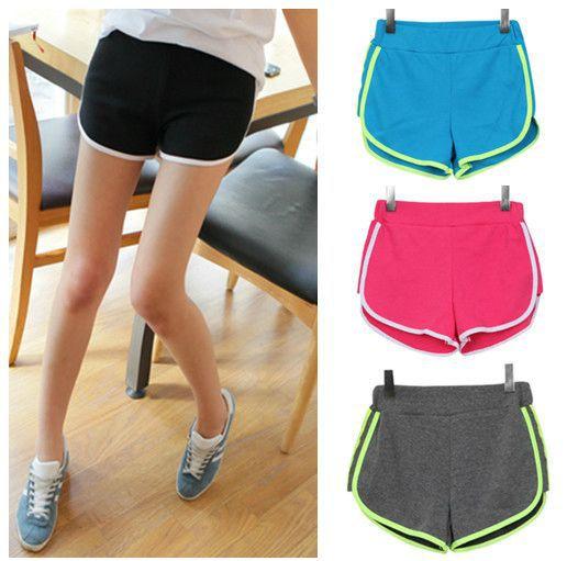 Спортивные шорты летние шорты женская талии прямые брюки свободного покроя шорты