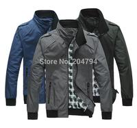 K118 New Mens fashion Luxury Outwear Waterproof Jackets Coats,Windproof 3 Colors
