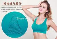 Free shipping, ladies underwear sports bra, Seamless without steel prop yoga sleep underwear
