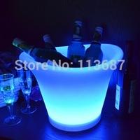 hot sale Wine Promotion led illuminated ice bucket