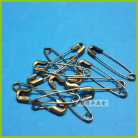 Free Shipping! 1000pcs copper Silver Tone Safety Pins Findings Accessories 19mm