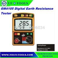 GM4105 Digital Earth Resistance Tester 4105A Multimeter 0~1999ohm  0~200V
