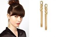 Canlyn Jewelry (4 Pairs/lot) New Fashion 2014 Tassel Stud Earrings for Women CE080