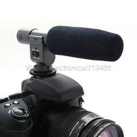 Professional Stereo Video Condenser DV Camera Microphone For Canon T3i T2i 7D 5D 60D Nikon D3S D7000 Pentax K7 K-5 DSLR Camera