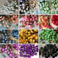 200pcs/lot Artificial Flowers Silk Rose flower heads Simulation flowersfor Party wedding Wholesale 1.2'' DIY fake  Decorative