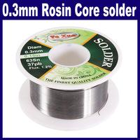 3 pcs/Lot _ 0.3mm Rosin Core Solder Low Melting Point Solder Soldering Wire Roll