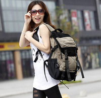 Backpack female bags laptop bag student school bag male fashionable casual travel backpack