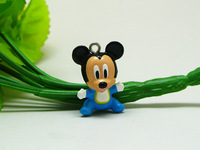 10 pieces Blue Mickey mice Mouse (Baby) Charm Pendant Lovely Fashion Gifts AMK978 Wholesale