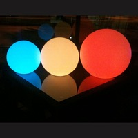 waterproof rechargeable garden illuminating ball light