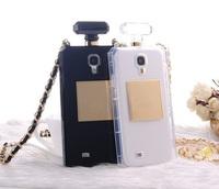 Wholesale Luxury Perfume Bottle Case for Samsung Galaxy S3 /S4 /S5, For Note 2 /Note 3 TPU Perfume Bottle Phone Case 10pcs/Lot