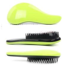 F98Free shipping Magic Detangling Handle Tangle Shower Hair Brush Comb Salon Styling Tamer Tool (China (Mainland))