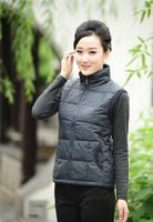 Special Offer The New Autumn And Winter 2014 Plus Size Padded Hooded Cotton Vest Fashion Casual Korean Slim Vest XL XXL XXXL 4XL