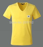 2014 Designer brand T Shirt,Casual Fashion Short Shirts,Pullover,Superman Clothing V Neck High quality Hot