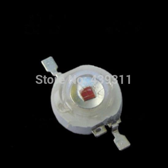 3W LED chip Yellow High Power bulb/Spotlight/celling/PAR light 588-590nm 2-2.4v 700mA 60-80lm AOC 42mil free shipping(China (Mainland))