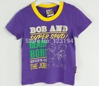 New 2014 summer boy T-shirt bob the builder short-sleeve t shirts o-neck sweater  3 colors free shipping