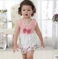 2014 kids dress , girl dress  new summer  dress baby girls dress princess dress , retail ,free shipping high quality