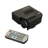 Free Shipping Portable Mini GW25 PRO LED Projector Home Cinema Theater 300:1 and 400 Lumen AV VGA USB SD HDMI