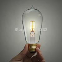 1PCS 40W 110V 220v Edison Bulbs incandescent bulb Led Bulbs & Tubes Personality Screw-mount bulb E27 Indoor/Outdoor Decoration