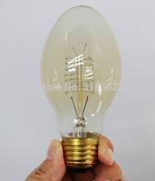 4pcs/lot 40W Edison Bulb 110V 220v Bullet light Incandescent Bulb Reminiscence Edison Light Fashion Tungsten filament lamp