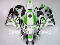 Top100%Fit pre_drilled Green white black fairings for CBR600 HONDA CBR600RR 05 06 F5 CBR 600 RR 2005 2006 injection fairing kit