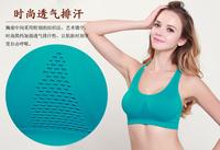 women full cup Push Up Lace Bra sexy Sports relax Running &Yoga wire free Nice Bra seamless padded bra
