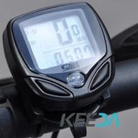 Wireless LCD Digital Computer Bicycle Bike Speedometer Odometer Waterproof