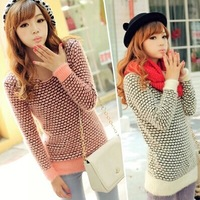 2014 new winter mohair sweater bottoming sweater Polka Dot free shipping