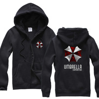 The new 2014 package mail umbrella zipper autumn/winter fleece jacket